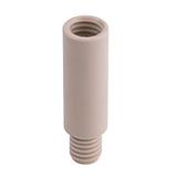 Safety-Adapter, Straight Extension 50mm for Safety-Waste-Filter Port, ea.