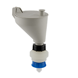 Safety-Funnel, S50, hinged lid, ea.