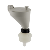 Safety-Funnel, S55, hinged lid, ea.