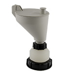 Safety-Funnel, S90, hinged lid, ea.