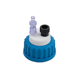 "Safety-Cap GL45 for Prep HPLC, 1x 1/4""-Tubing Port, ea."
