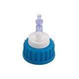 "Safety-Cap GL45 for Prep HPLC, 1x 3/16""-Tubing Port, ea."