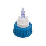 "Safety-Cap GL45 for Prep HPLC, 3x 3/16""-Tubing Port, ea."