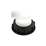 """Safety-Cap S55 for Prep HPLC, 1x 3/16""""-Tubing Port, ea."""