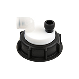 """Safety-Cap S60 for Prep HPLC, 1x 1/4""""-Tubing Port, ea."""