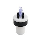 Safety-Cap Ground Neck Bottle 29/32mm, 4x Tubing Port, ea.