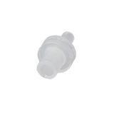"""4mm Syringe Filter, PTFE Hydrophobic, Nonsterile, Pore Size 0.22µm, <font color=""""#0000ff"""">pk.200</font>"""