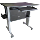 IonBench IonLC-Desk, elevating Desk for LC 100cm (W) x 80cm (D), two columns, max weight 160 kg, ea.