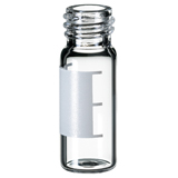 1.5ml Screw Neck Vial 32 x 11.6mm (clear) with label and filling lines , 10-425, wide opening, pk.1000