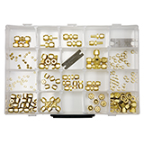 Restek Swagelok Fitting Kit, Brass