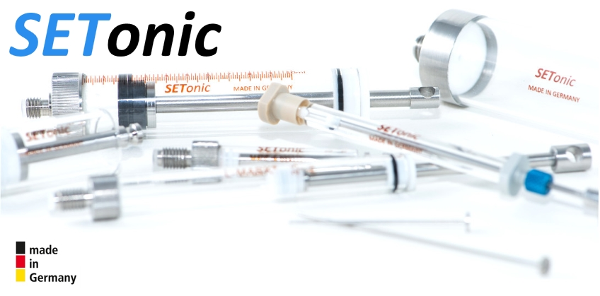 Setonic Syringe solutions for Agilent 7673