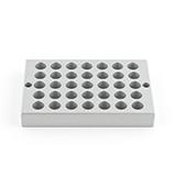 Thomson Filter Vial Rack, 35 holes x 12mm, ea.