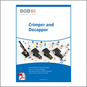 BGB Crimper and Decapper Brochure