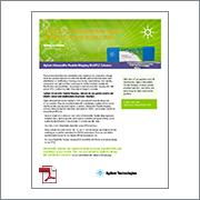 Agilent Peptide Mapping Flyer 5991-1696EN