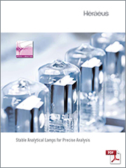 Stable Analytical Lamps for Precise Analysis