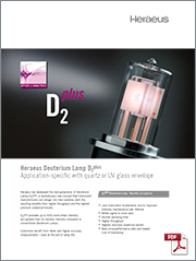 Heraeus Deuterium Lamp D2 plus
