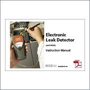 Leak Detector 33333 Manual