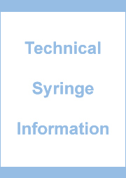 Technical Syringe Information