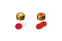 11mm Magnetic Crimp Cap with Septa Silicone/PTFE or PTFE/Silicone/PTFE