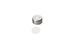 11mm Aluminum Crimp Cap with Septa PTFE only