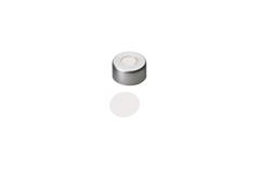11mm Aluminum Crimp Cap with Septa PTFE only