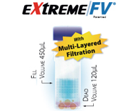 SINGLE StEP eXtreme Filter Vial with Pre-Slit Cap