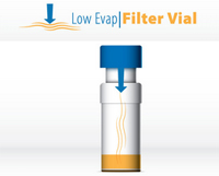 SINGLE StEP Filter Vial with Low Evaporation Cap