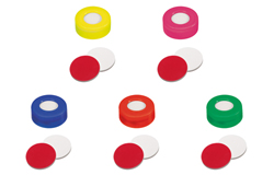 Snap Ring Cap with Septa Silicone/PTFE