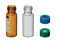 Short-Cap Screw Vials and Caps