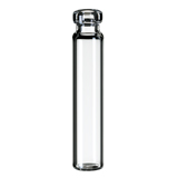 1.2ml Crimp Neck Vial 40 x 8.2mm (clear), flat bottom, pk.100