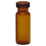 1.5ml Crimp Neck Vial 32 x 11.6mm (amber), wide opening, pk.100