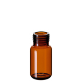 10ml ND18 Headspace Screw Vial (amber), 46 x 22.5mm, rounded bottom, pk.100 (old part number 18091310)