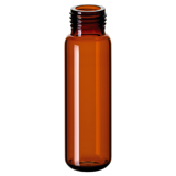 20ml ND18 Headspace Screw Vial (amber), 75.5 x 22.5mm, rounded bottom, pk.100 (old part number 18091311)