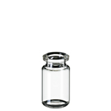5ml ND20 Headspace Crimp Vial (clear), 38.2 x 22mm, rounded bottom, pk.100