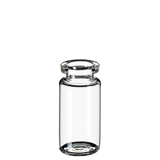 10ml ND20 Headspace Crimp Vial (clear), 46 x 22.5mm, rounded bottom, pk.100