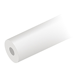 "Tubing, PTFE, Natural, 1/8"" OD x 1.59mm ID, 3m"