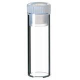 2ml Shell Vial (clear) incl. PE-Plug, 31.5 x 11.6mm, pk.100