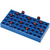 PP Vial Racks for Standard 4ml Vials (230 x 117 x 28mm), 50 Positions, pk.5
